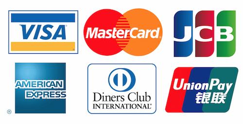 店頭支払可能クレジットカード